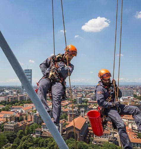 Услуги промышленного альпинизма в Омске